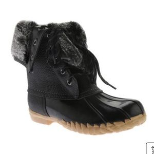 Womens Sporto Daphne Lace-Up Duck Winter Boots!